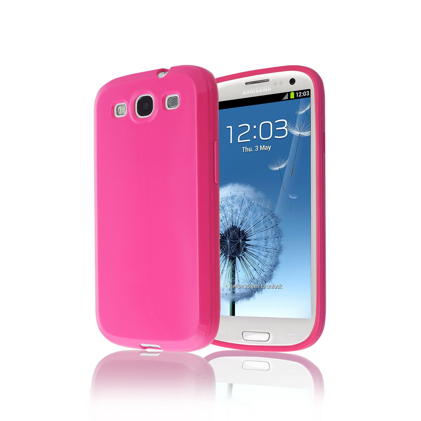 b7740cdde Silikonové pouzdro / obal na Samsung Galaxy S3 / S3 Neo (SGS3UK3)