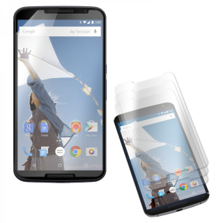 3x Folie na display / Screen protector  Nexus 6